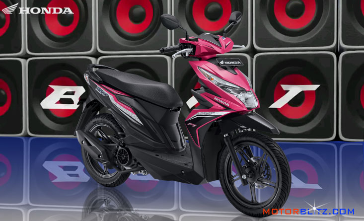 All new honda beat esp warna pink