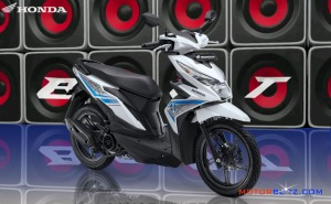 All new honda beat esp warna putih