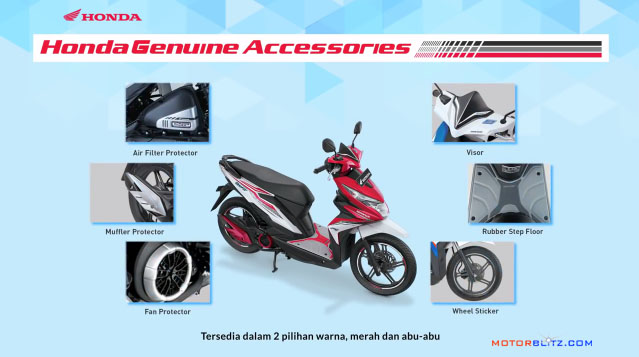 honda beat 2016 - 2017 asesoris