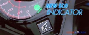 honda beat 2016 - 2017 eco indicator
